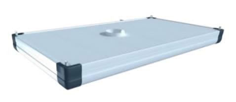 Äratõmbekubu ühendusäärikuga ja kinnitusklambritega 2x3m, Plymovent