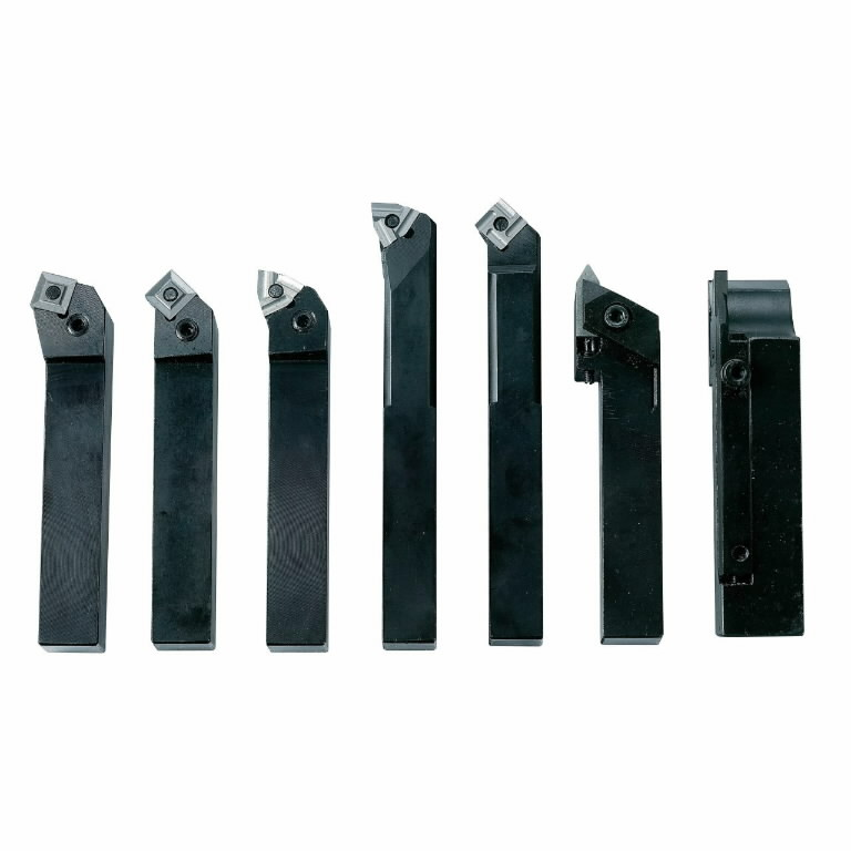 indexable carbide turning tool set, 20 mm