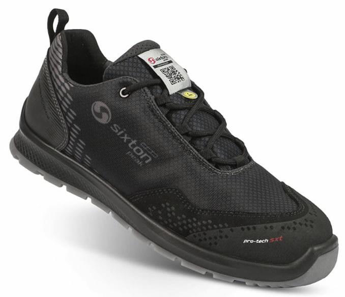 Apsauginiai batai  Skipper Auckland, juoda S3 ESD SRC 41, Sixton Peak