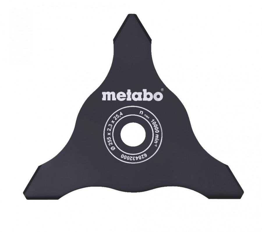 kolmiknuga 255mm/2,3mm, ava 25,4mm, Metabo