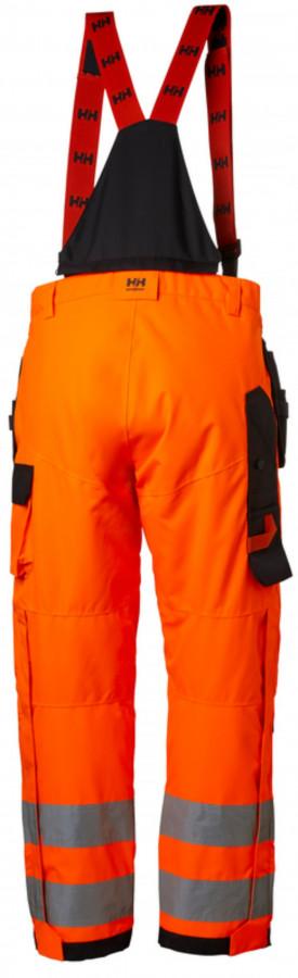 Traksipüksid koorik Alna kõrgnähtav CL2, oranz/must C46, Helly Hansen WorkWear
