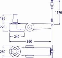 Pneumo-hüdrauliline tungraud 50/30T P 302, Pasquin