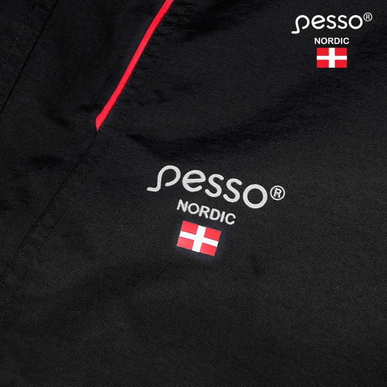 Waterproof Winter Jacket Helsinki, black L, Pesso