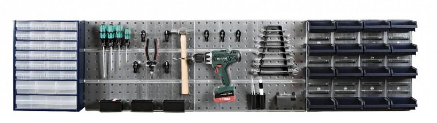 Tööriistahoidja komplekt seinale Startset 1, Raaco