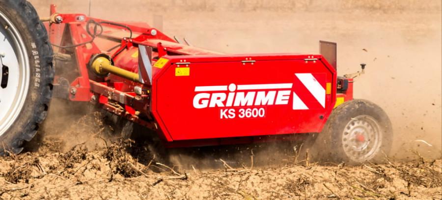 Pealse-eemaldi  KS 3600, Grimme