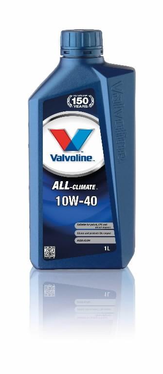 Mootoriõli ALL CLIMATE 10W40 1L, Valvoline