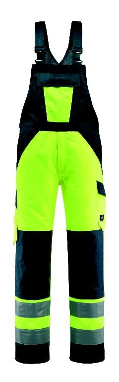 Traksipüksid Gosford kõrgnähtav CL2, kollane/t.sinine 82C48, Mascot