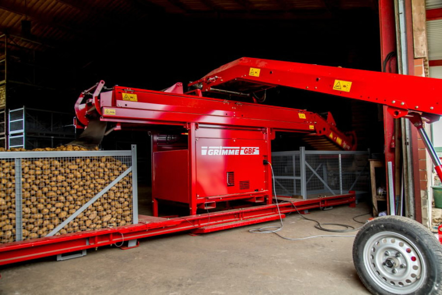 Box filler  GBF S-S-S, Grimme