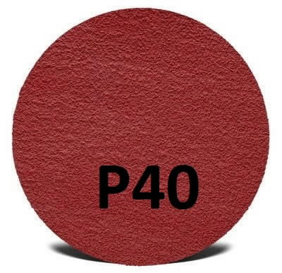 Šlifavimo diskas 125mm P40+ Hookit Cubitron II 947A, 3M