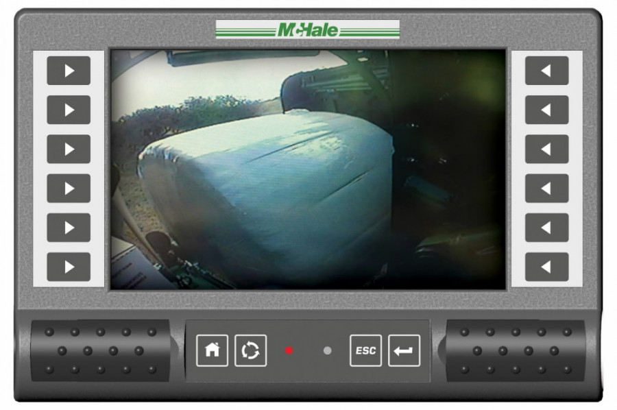 Integrated Baler Wrapper McHale Fusion3 Pro, Mchale