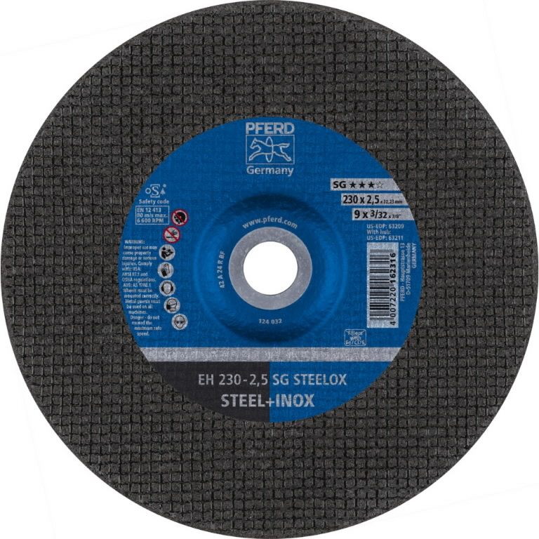 INOX lõikeketas 230x2,5x22 A24R SG-EH, Pferd