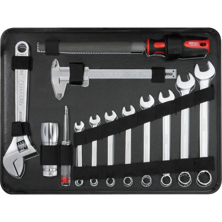 Universaalne tööriista kmpl 1/4´´+1/2´´ 127-osa, KS Tools