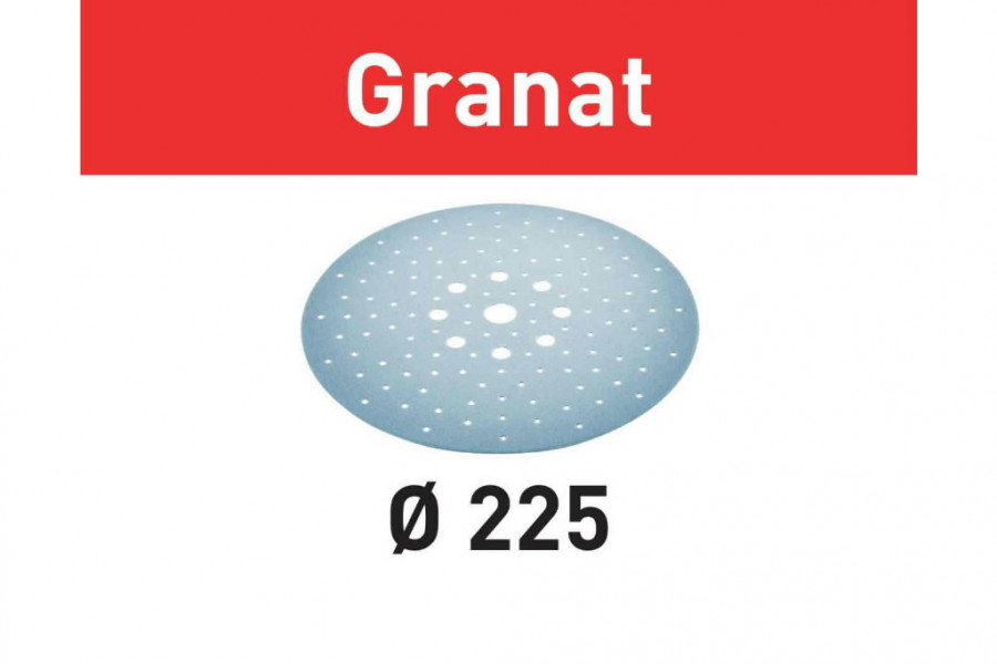 Lihvkettad GRANAT / STF D225/128 / P180 / 25tk, Festool