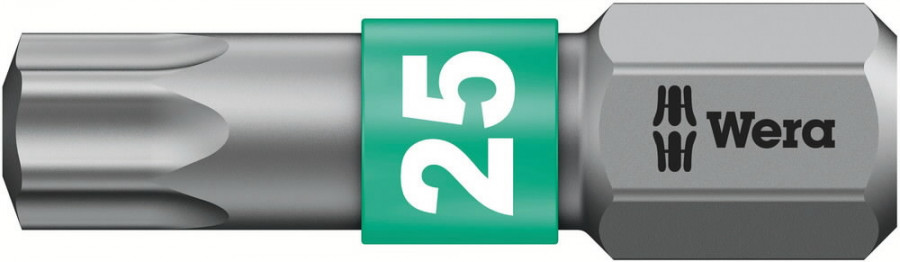 Насадка TX25/25 867/1BTZ, для металла, WERA