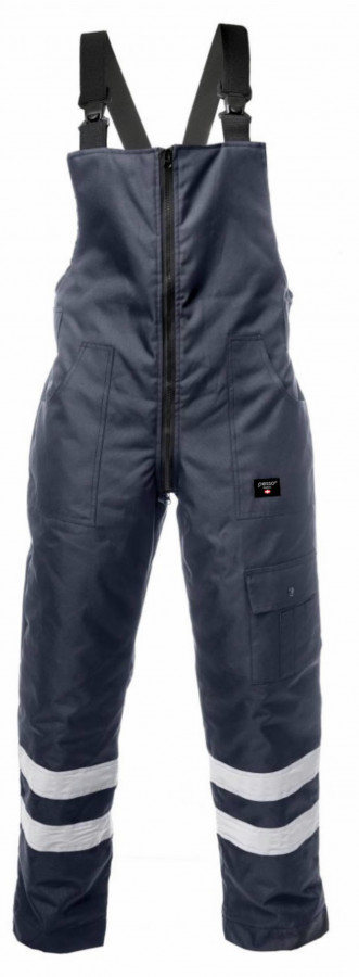 Winter Bib-trousers trousers MONTANA, navy, 3XL, Pesso