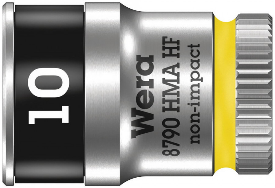 "Padrun 1/4"" 8790 HMA HF Zyklop  10mm, Wera"