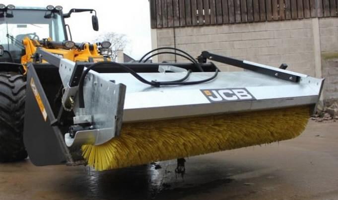 Bucket sweeper , JCB