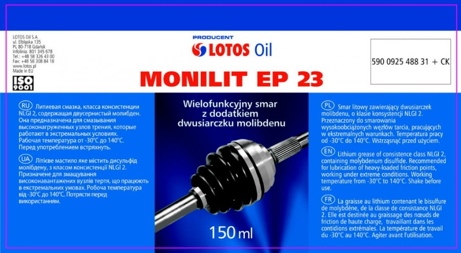 MONILIT EP 23 150ml