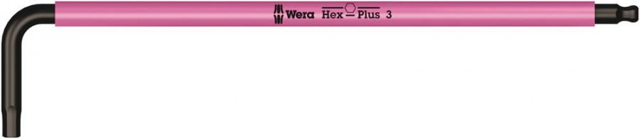 L-kuuskant 3mm, 950 SPKL, Wera