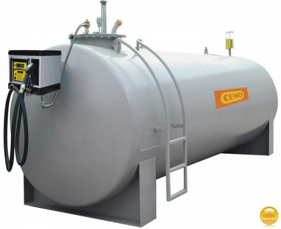 Diiselkütuse tankla. 10T paagiga tankimisseade CUBE 70 K33, Cemo