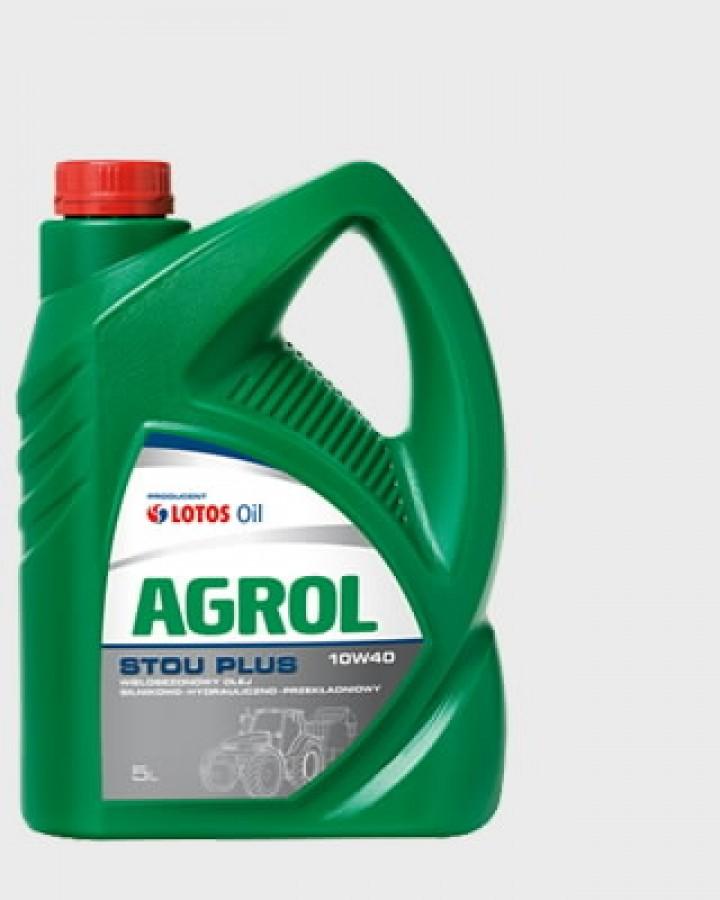 Tractor oil AGROLIS STOU PLUS 10W40 5L, Lotos Oil