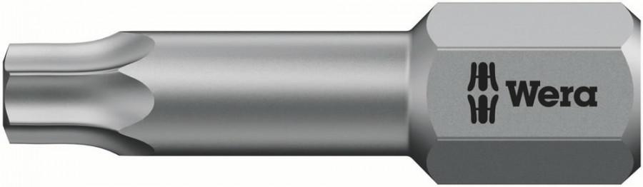 Otsak 1/4´´ 867/1 TZ TORX TX 27x25, Wera