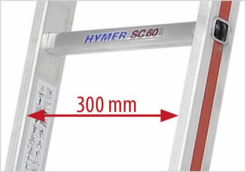 Universaalredel 2x8 astet 2,39/4,07m 6045, Hymer