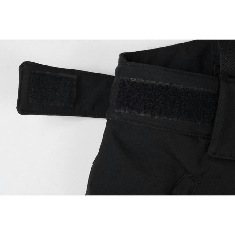 Žieminės softshell kelnės Barnabi, juoda, su  petnešom XL, Pesso