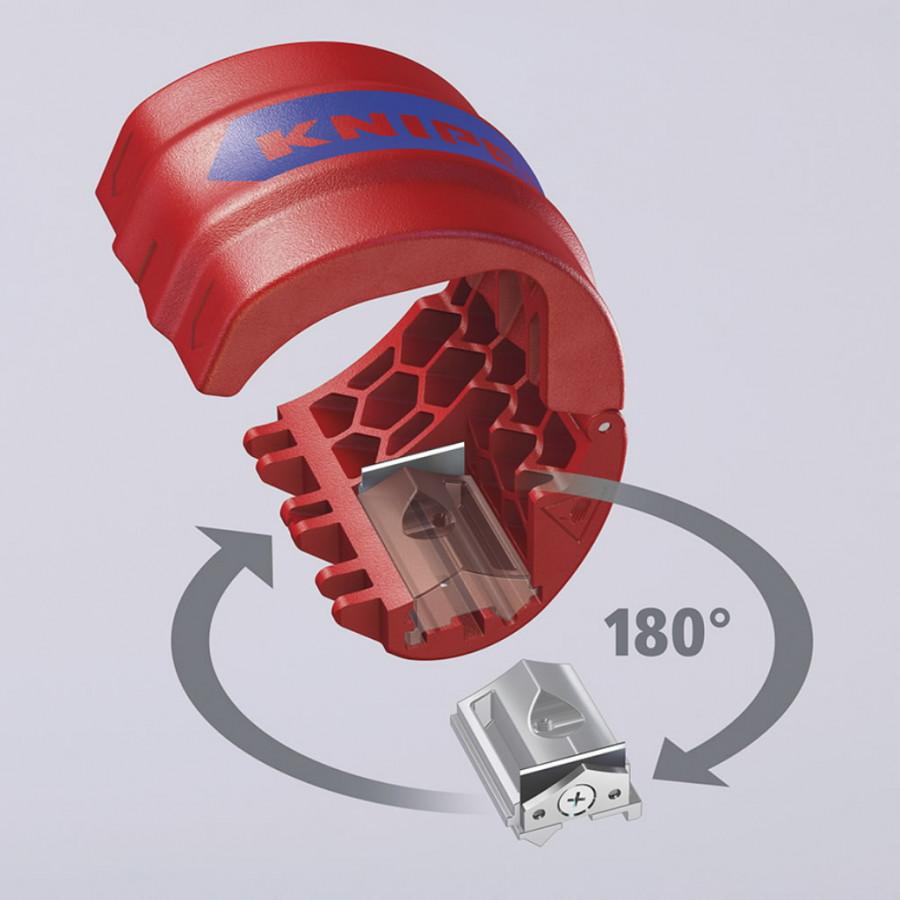 Plasttoru ja kaablikõri lõikur BiX, D20-50mm, Knipex