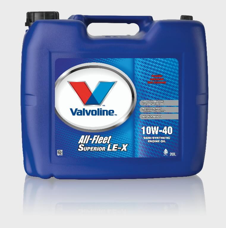 Mootoriõli ALL FLEET SUPERIOR  LE-X 10W-40 208L, Valvoline