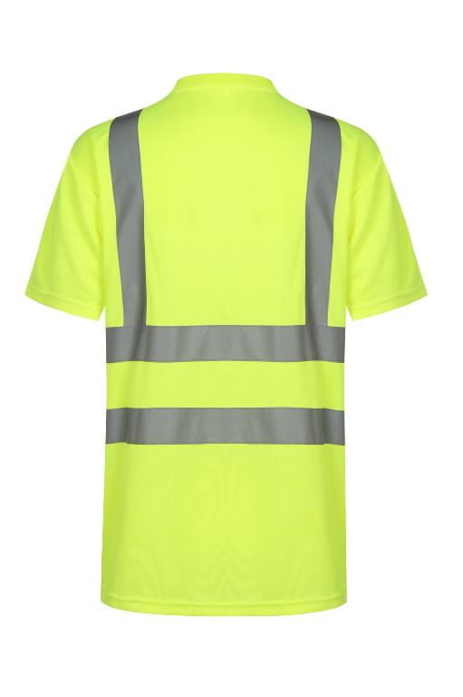 T-särk HVMG kõrgnähtav CL2, kollane M, Pesso
