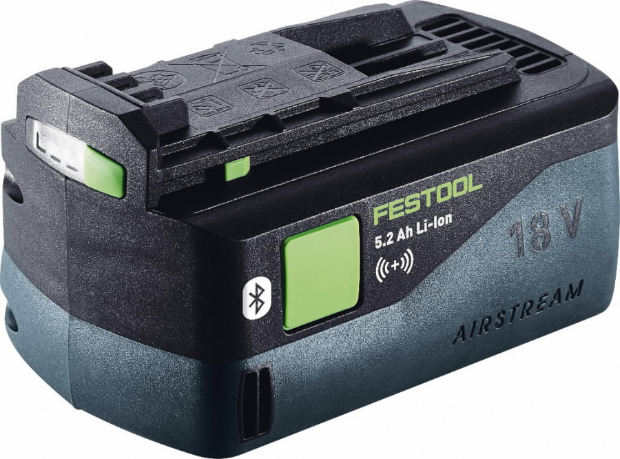 Aku BP 18V / 5,2Ah ASI Li-ioon Bluetooth®, Festool