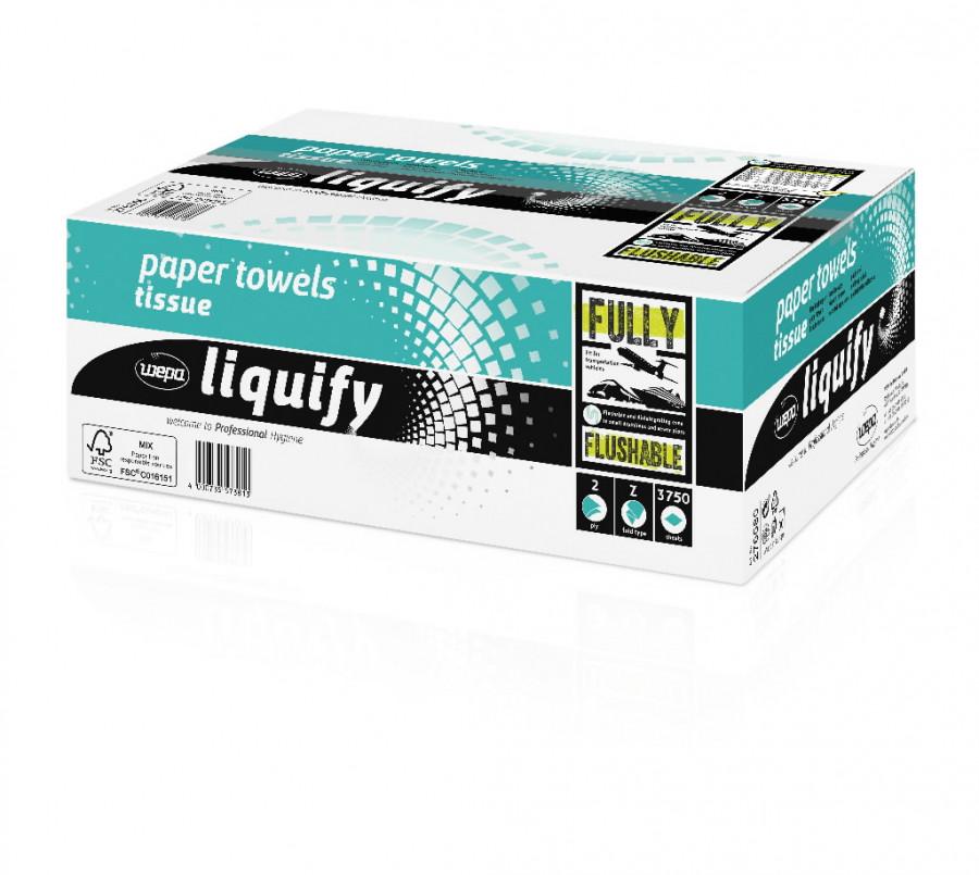 Lehtpaber Liquify/2- kihti/20,6x24cm/3750 l/veeslahustuv PT3, Wepa