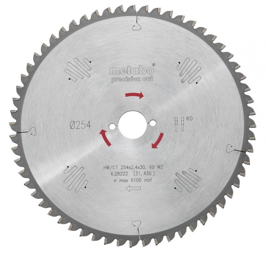 Saeketas 160x1,6/1,1x/16/20, z24,WZ, 22°.Precision cut KSA18 KSA 18 LTX, Metabo