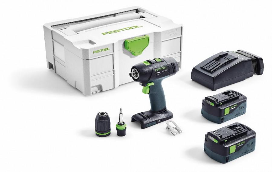 Akumulatora urbjmašīna T 18+3 Li 5,2 Plus, Festool