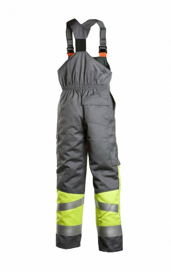 Keevitaja talve traksipüksid Multi 6005 kõrgnähtav CL1, hall XL, Dimex
