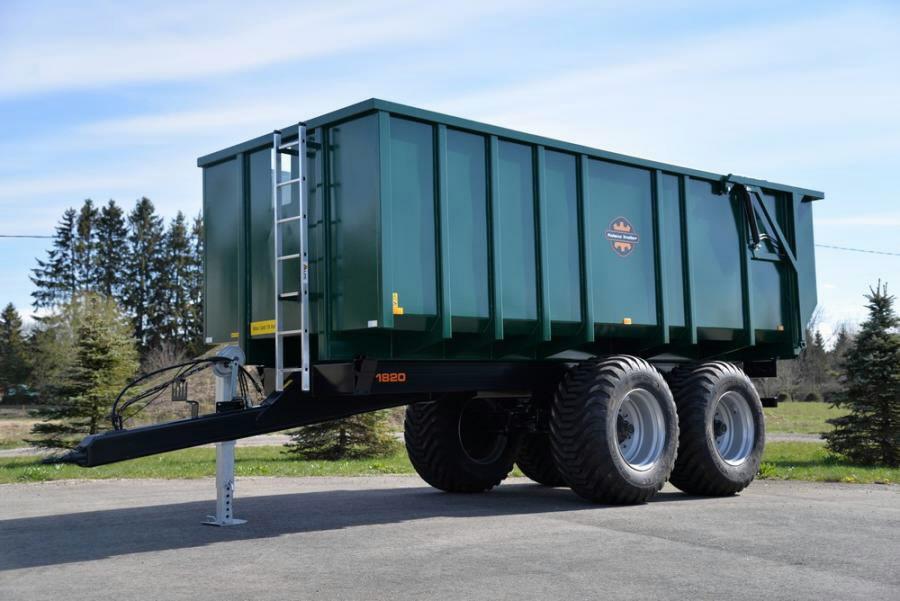 Dump trailer Palmse Trailer PT1920MB, PALMSE