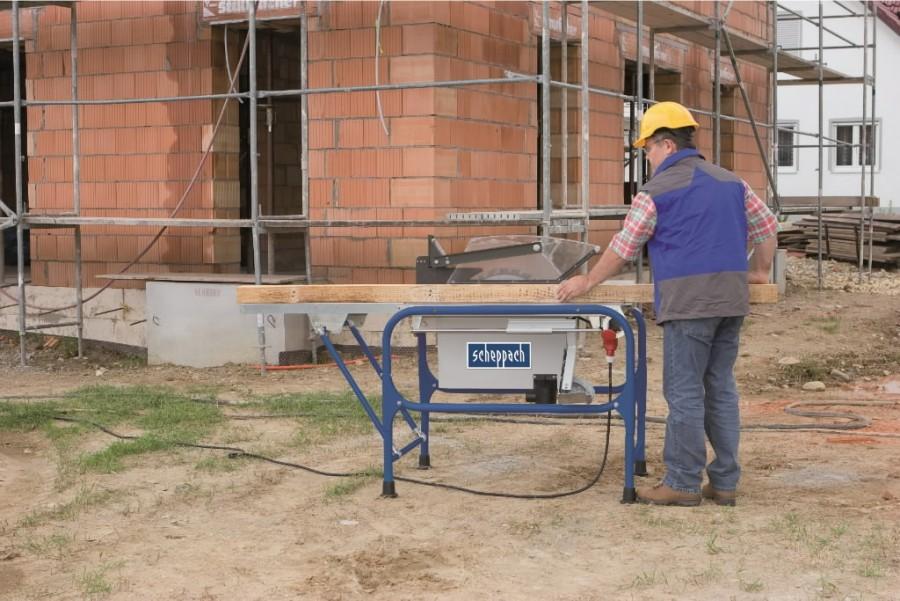 Ehitussaepink Structo 5.0. 400V / 4,2kW, Scheppach