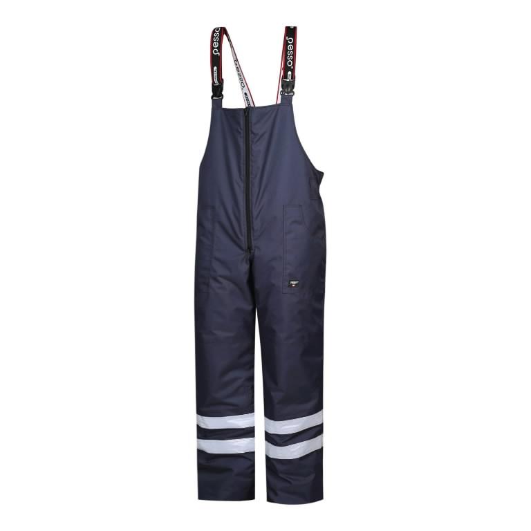 Winter Bib-trousers trousers MONTANA, navy, M, Pesso