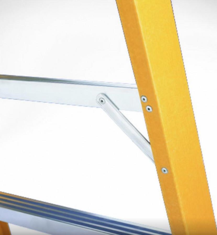 Treppredel V6  fiiber 2x6 astet, Svelt