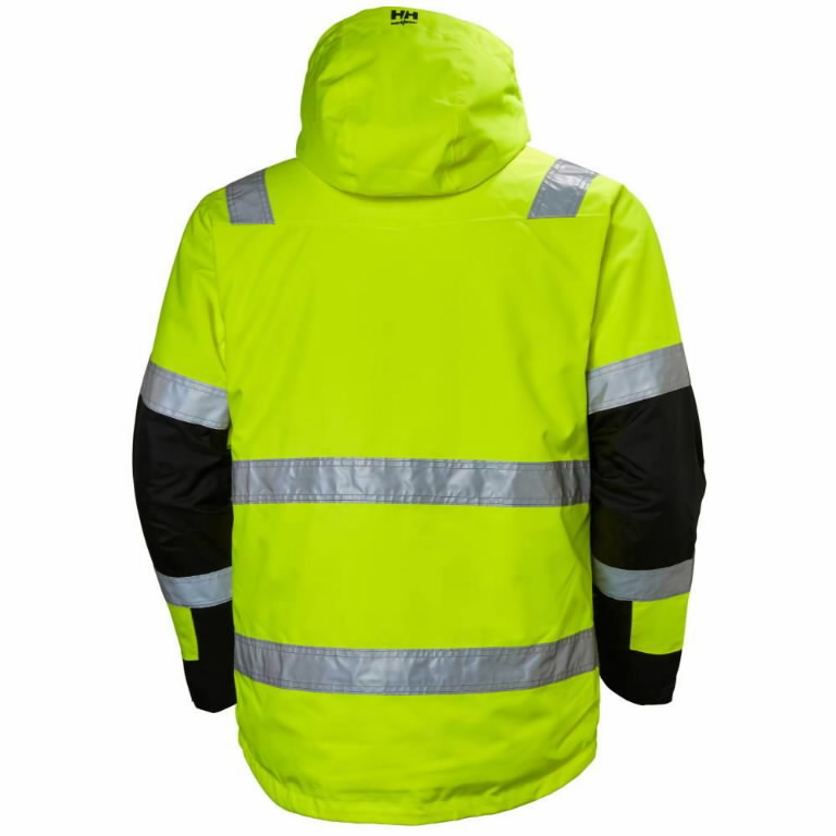 Koorikjope Alna kõrgnähtav CL3, kollane/must XL, Helly Hansen WorkWear