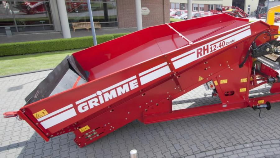 Vastuvõtupunker  RH 12-40 combi, Grimme