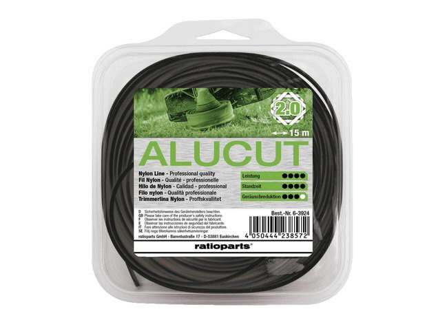 Trimmitamiil 2,0mm x 15m Hybrid Twist Alu-Cut, Ratioparts