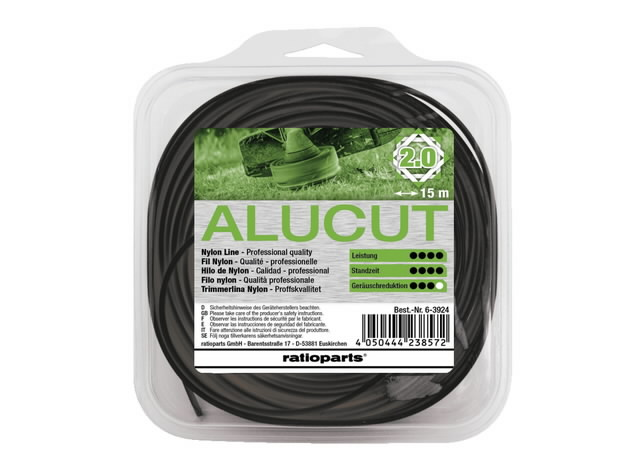 Trimmitamiil 2,0mm x 15m Hybrid Twist Alu-Cut, Ratioparts