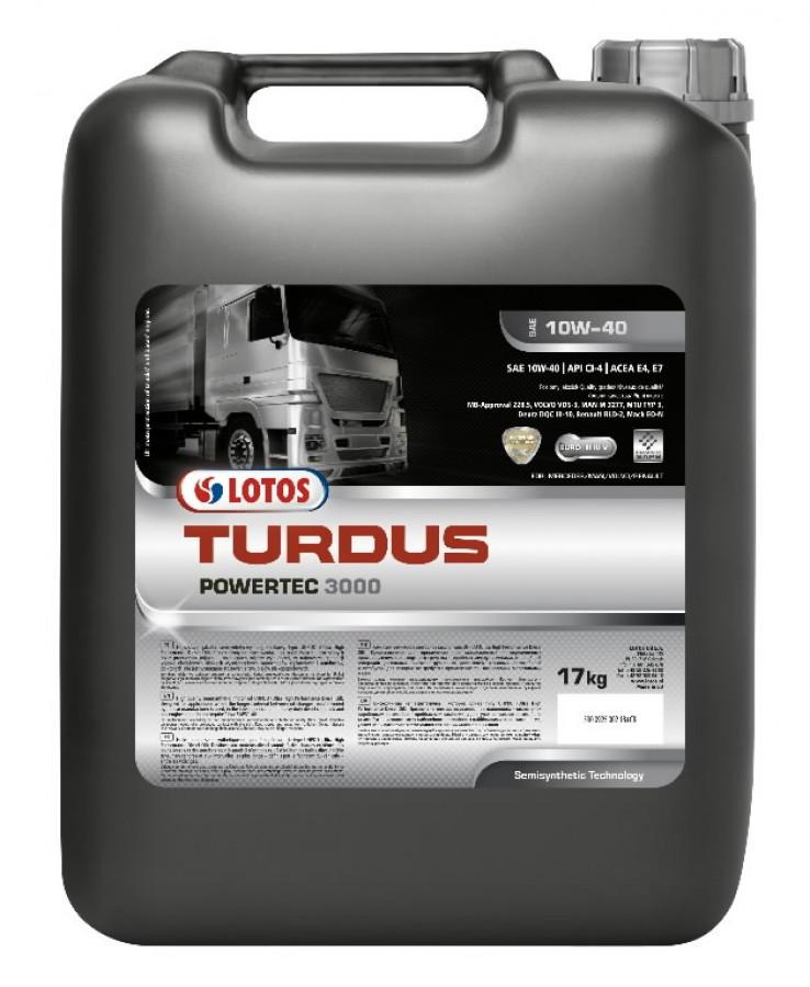 Mootoriõli TURDUS POWERTEC 3000 10W40 20L, Lotos Oil