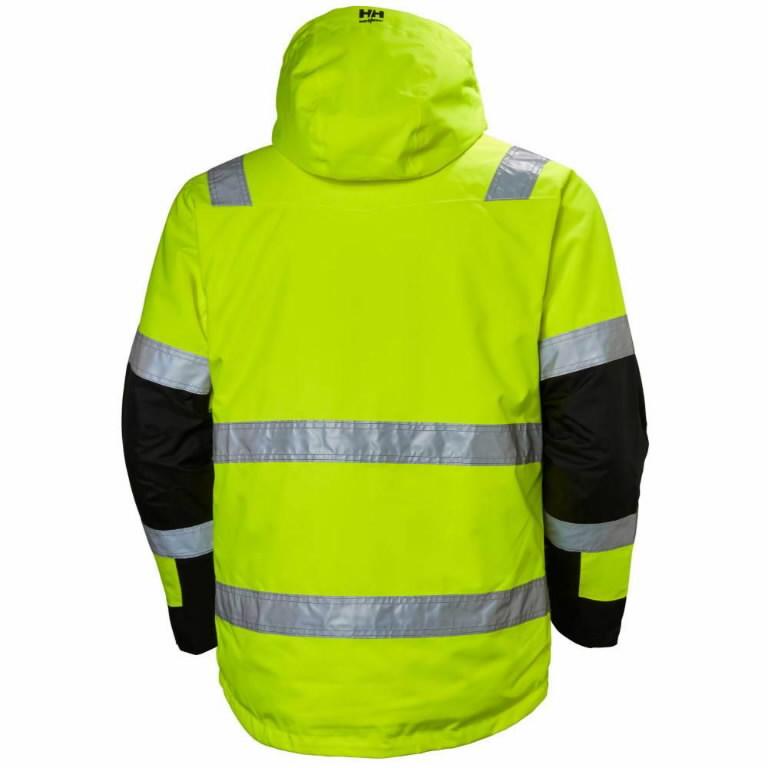 Koorikjope Alna kõrgnähtav CL3, kollane/must 2XL, Helly Hansen WorkWear