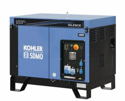 Elektrigeneraator DIESEL 10 LC A SILENCE C5, SDMO