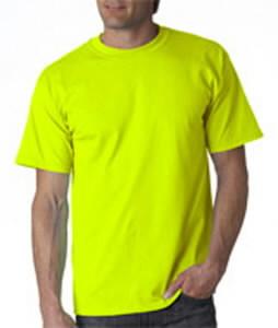 T-särk Gildan 2000 kõrgnähtav, kollane 3XL