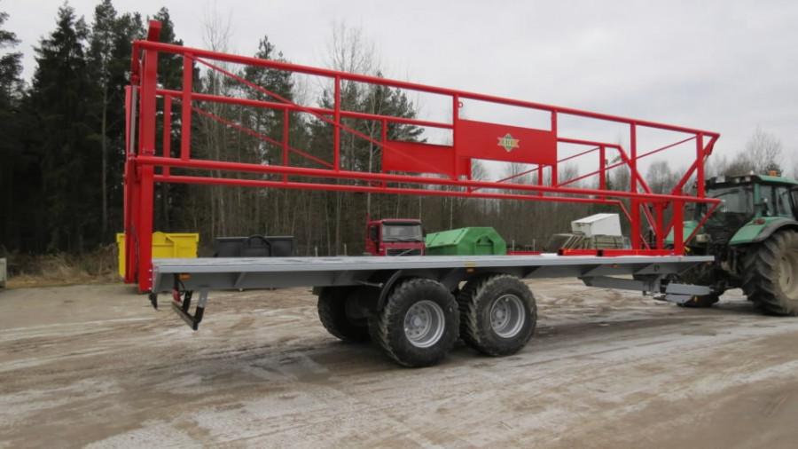 Bale trailer ERT PPH-18, TÜ EHA METALLI- JA PUIDUTOOTED