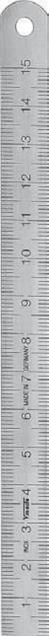 Liniuotė 2500mm x 18x0,5mm, Vögel